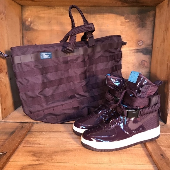 sports shoes c3843 f3e8d Nike SF Air Force 1 Winterized Port Wine NEW. M 5b141107035cf1dc79d243d3